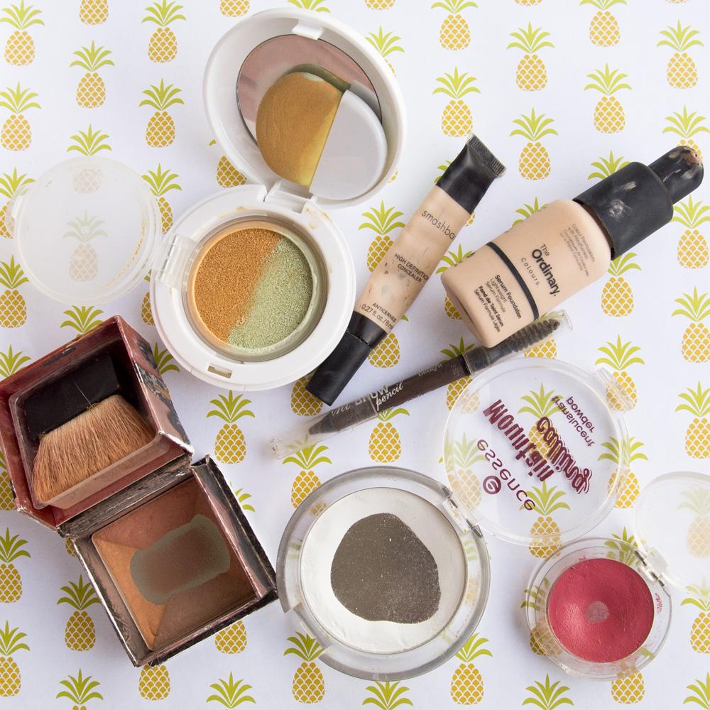 Makeup Project Pan - July 2018 Usage