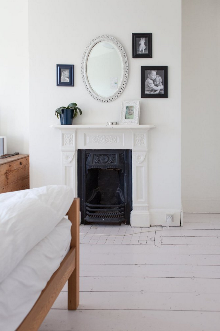 Farrow & Ball // All White // via Apartment Therapy