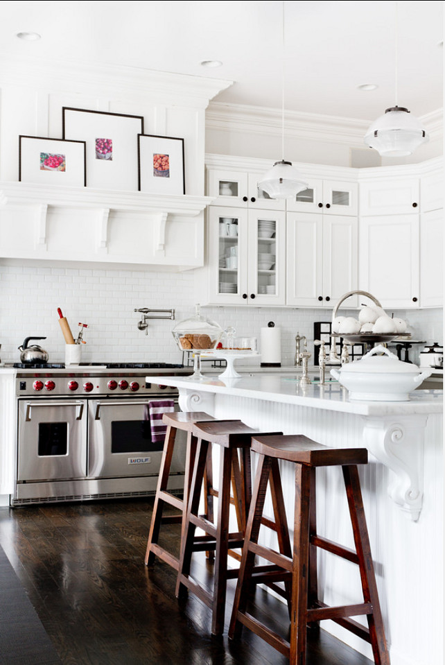 Sherwin Williams // Alabaster // via Homebunch