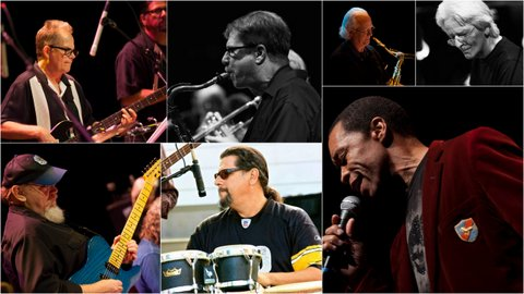 Pockets, All Star R & B band, with former members of Chicago, Oingo Boinga, America, Toto, Block Crowes etc