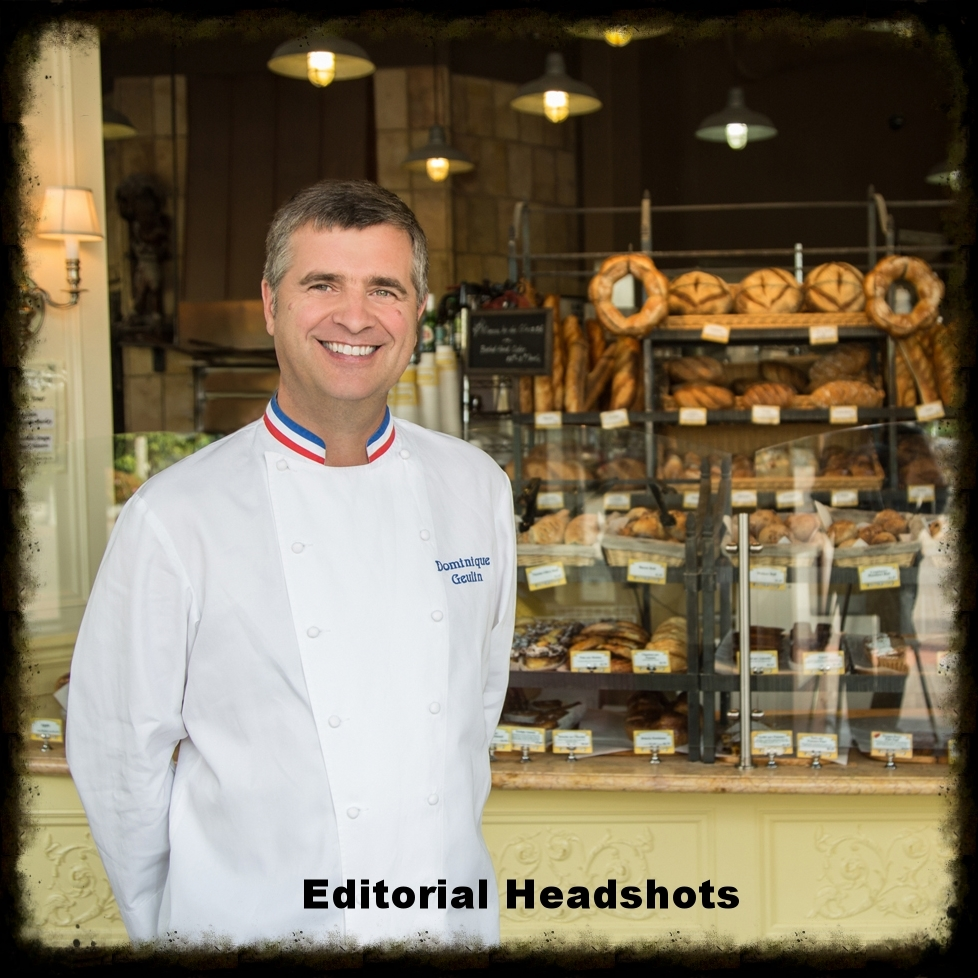 "Dominique Geulin, MOF - Master Baker/Owner - St. Honoré Boulangerie - ""Editorial Headshots"""