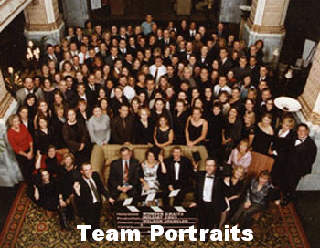 "Starbucks - Northwest Interior Region/Holiday Roadshow - ""Team Portraits"""