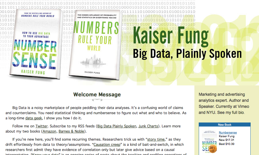 Big Data, Plainly Spoken blog