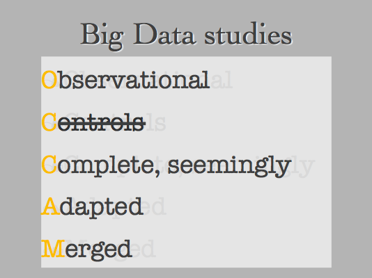 Towards a More Useful Definition of Big Data, Big Data Plainly Spoken, Mar 2014