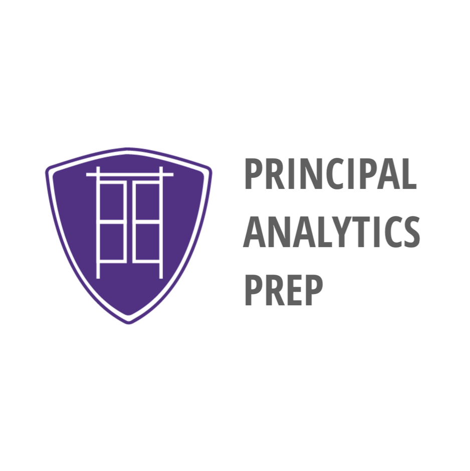 Principal Analytics Prep Information Session & Webinar