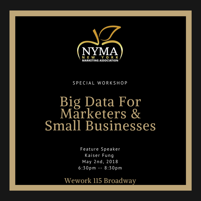 New York Marketing Association Special Workshop