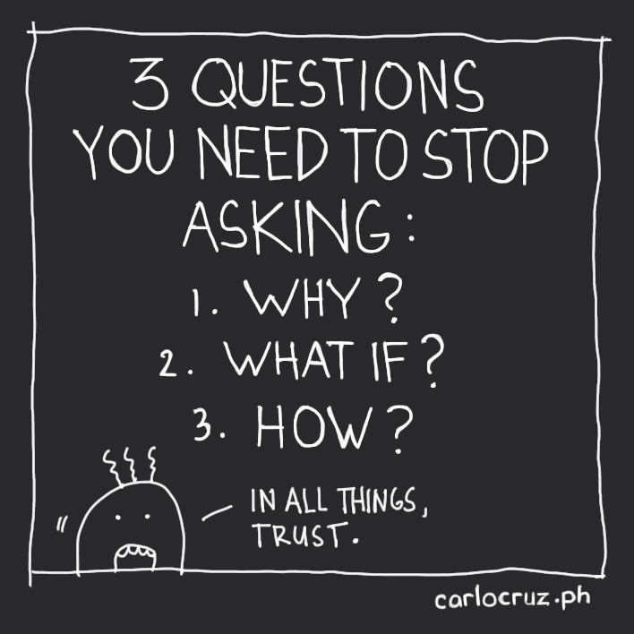 questions you need to stop asking
