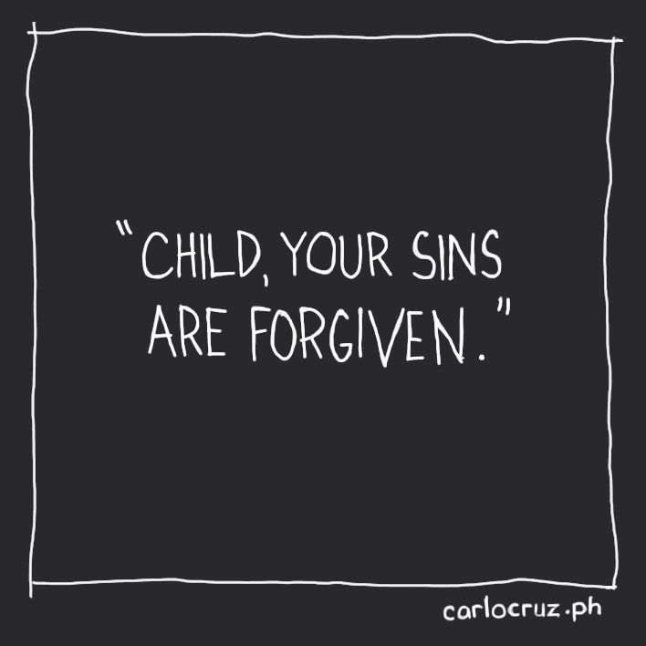 your sins are forgiven