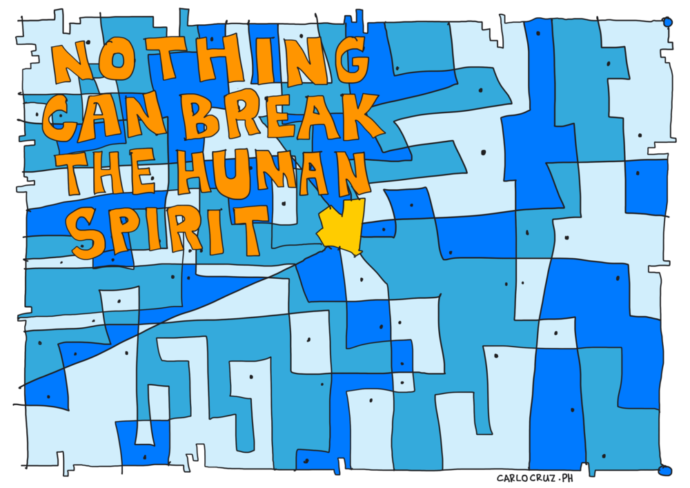 nothing can break the human spirit