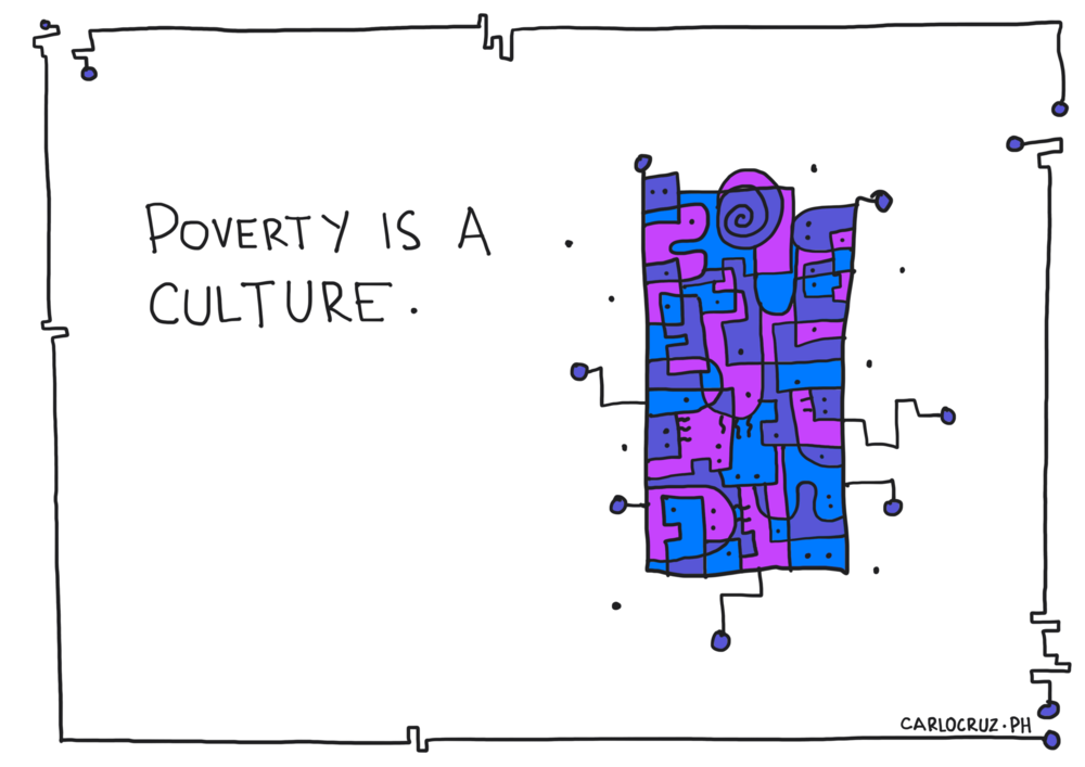 poverty is a culture