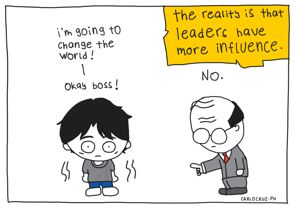 the reality of influence