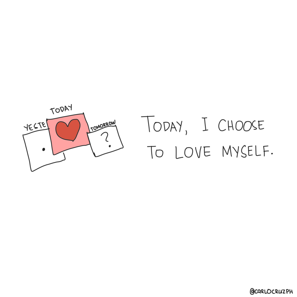 Today I choose to love myself