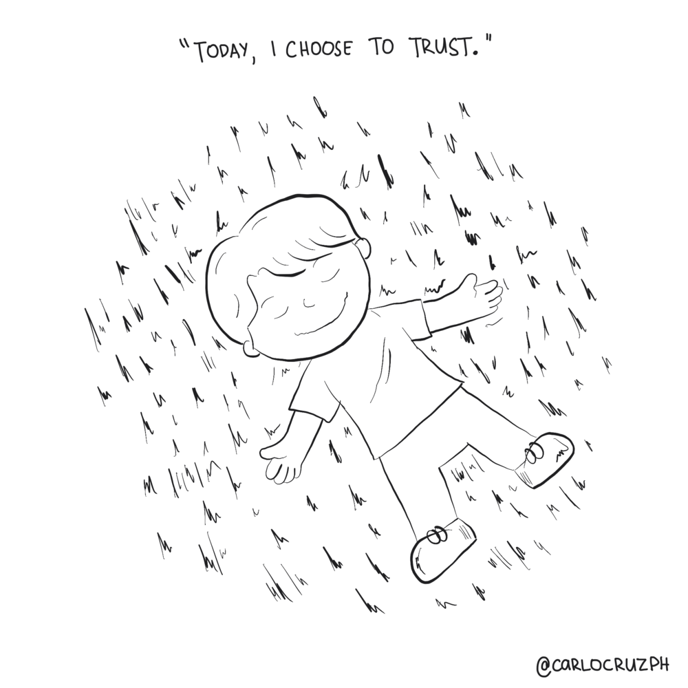Today I choose to trust