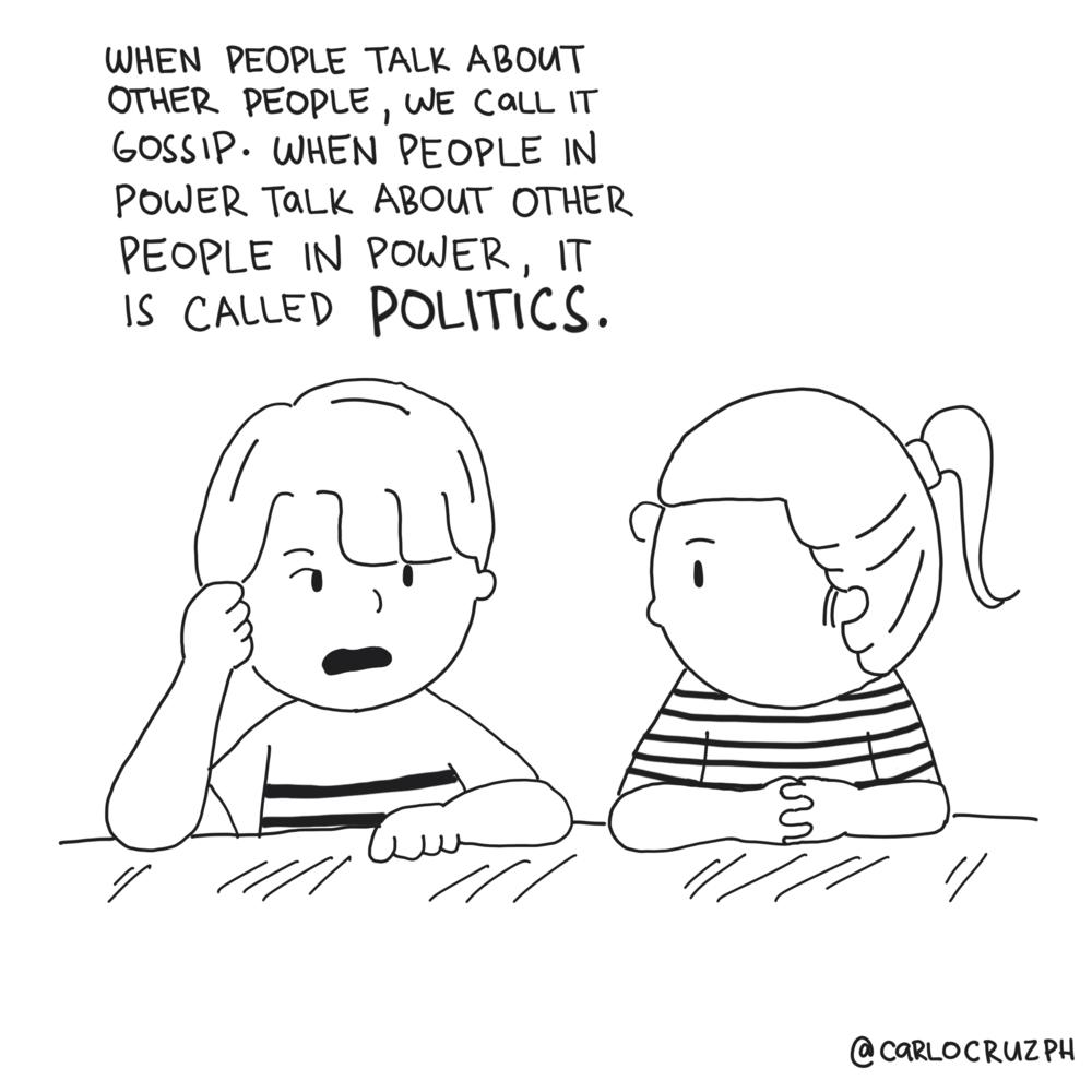 gossip vs politics