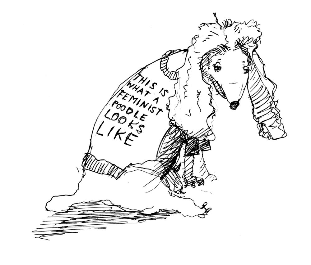 Feminist Poodle_JU.JPG