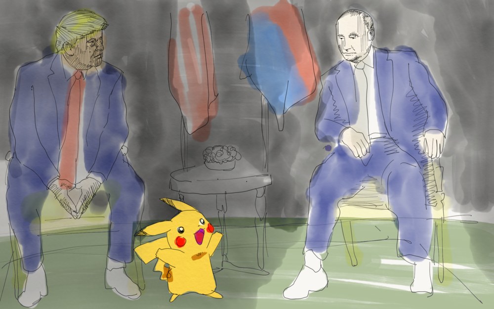 V. Putin, Catching Them All,   July 16, 2018