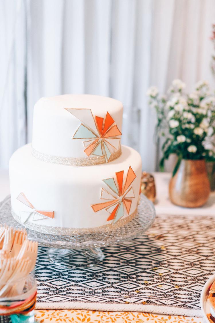 Vanilla Rose Cakes