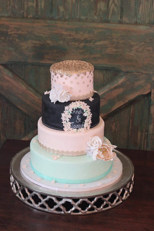 Vanilla Rose Cakes Custom wedding cakes Dallas TX custom
