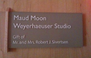 Maud Moon Weyerhaeuser Studio