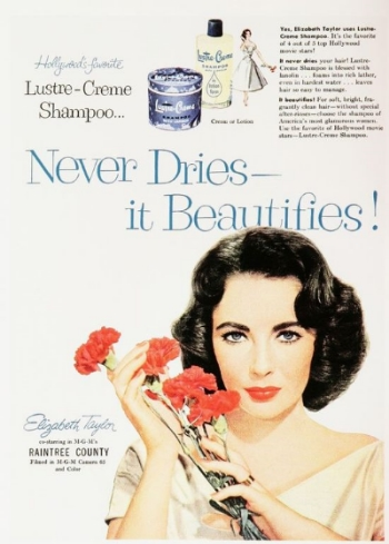 Beauty ads aren't a new thing. And their messages about how to be beautiful aren't either. Instead of photoshopping, they used illustrations to make their models seem flawless.
