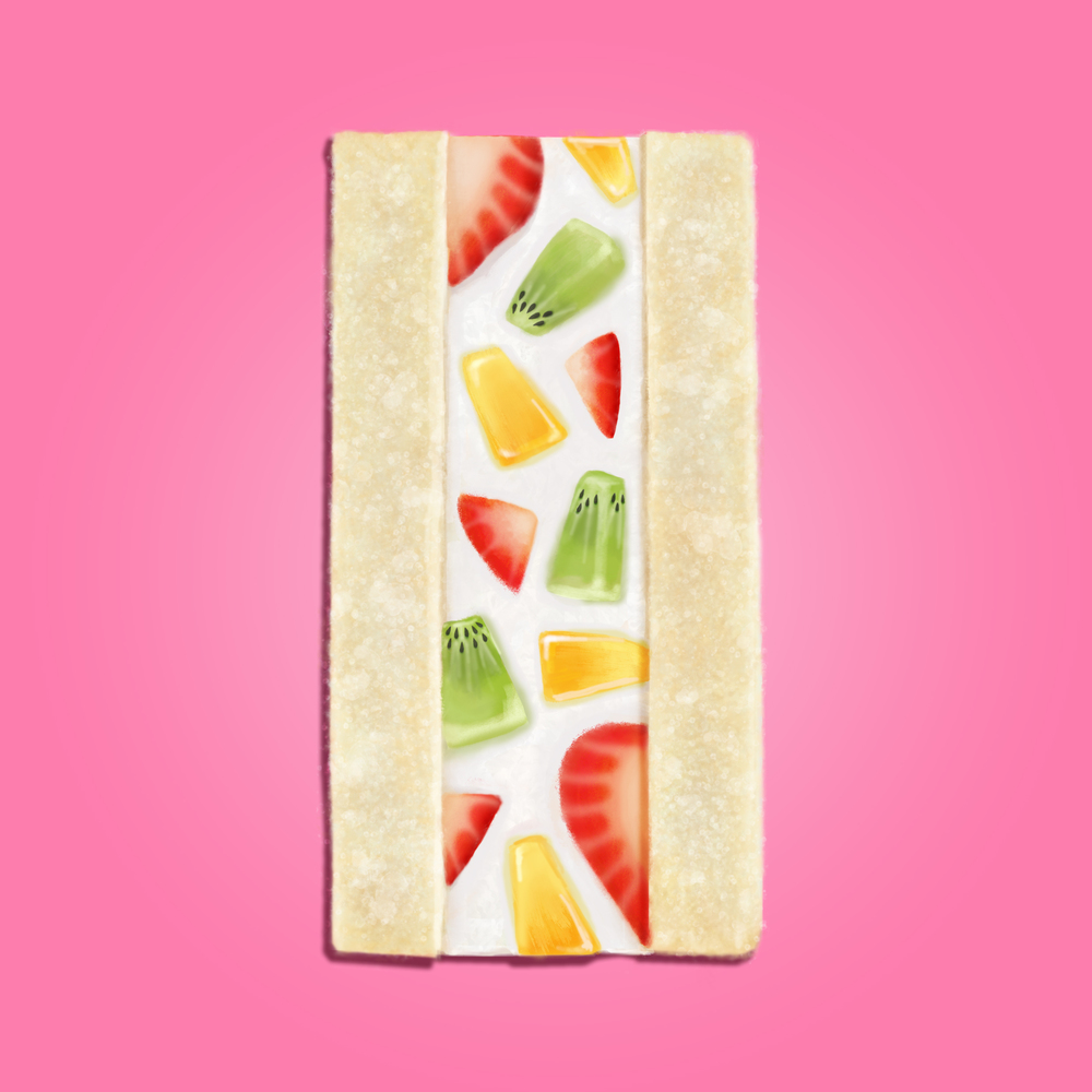 Fruit sandwhich