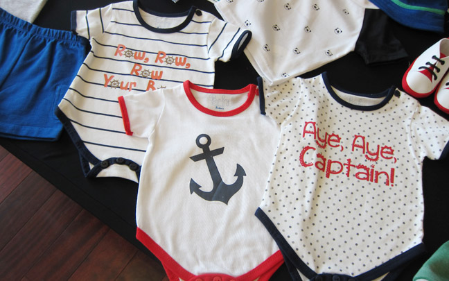 Ahhhhh! I can't wait for my own baby boy clothes <3