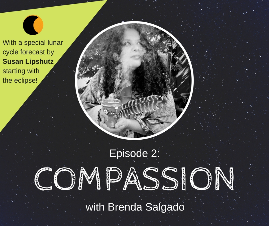 Episode 2: Compassion - Learn about the radical shift from mind to heart and how to stay focused on compassion in troubled times with spiritual and social justice leader Brenda Salgado.