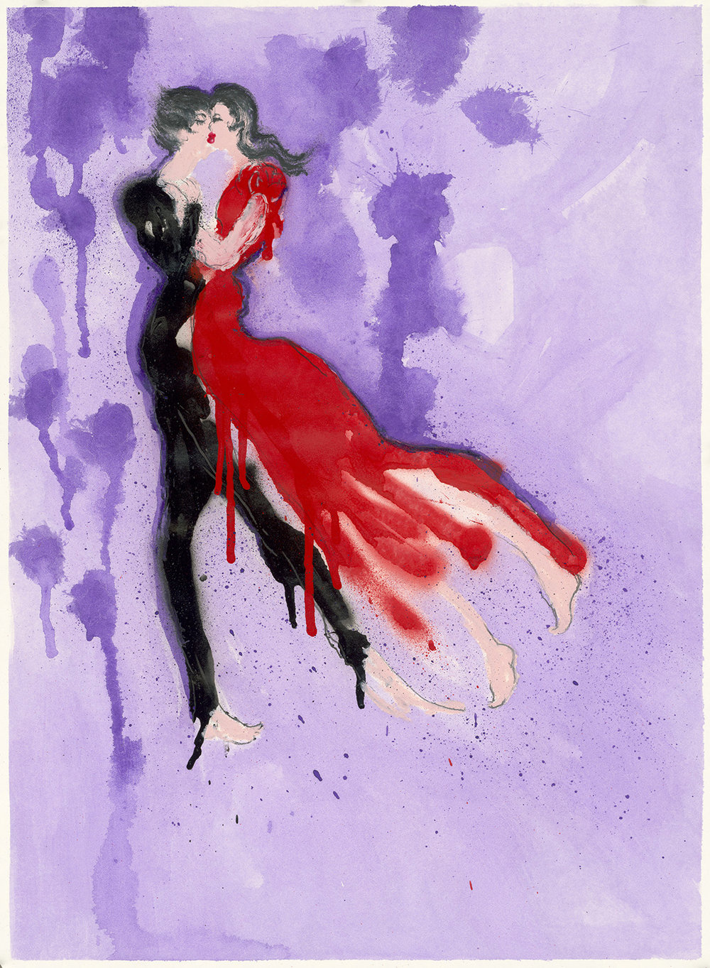 Cincinnati Opera Gala Illustration