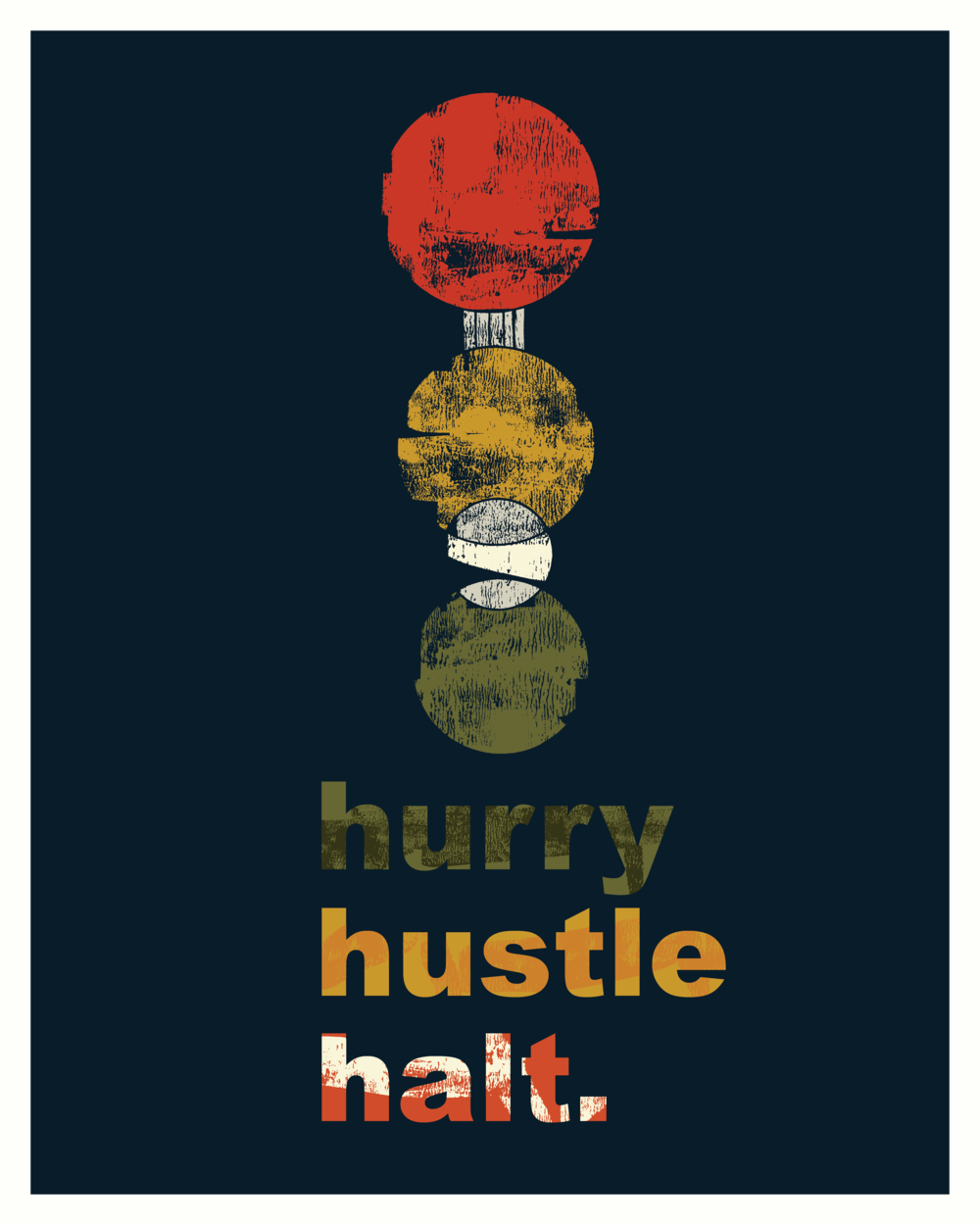 Print campaign concept art, 2018.