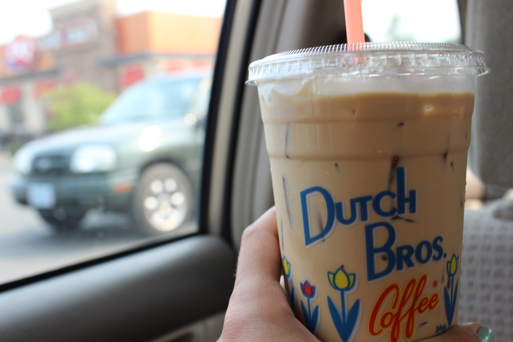 First Dutch Bros coffee and to say I was hooked would be an understatement.