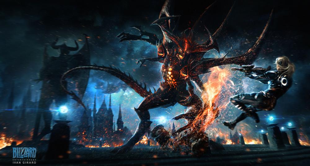 Heroes of the Storm - Diablo vs Nova