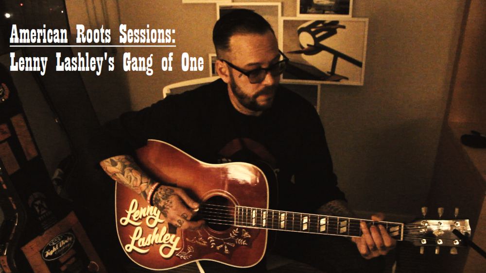 Lenny Lashley American Roots Sessions Cover