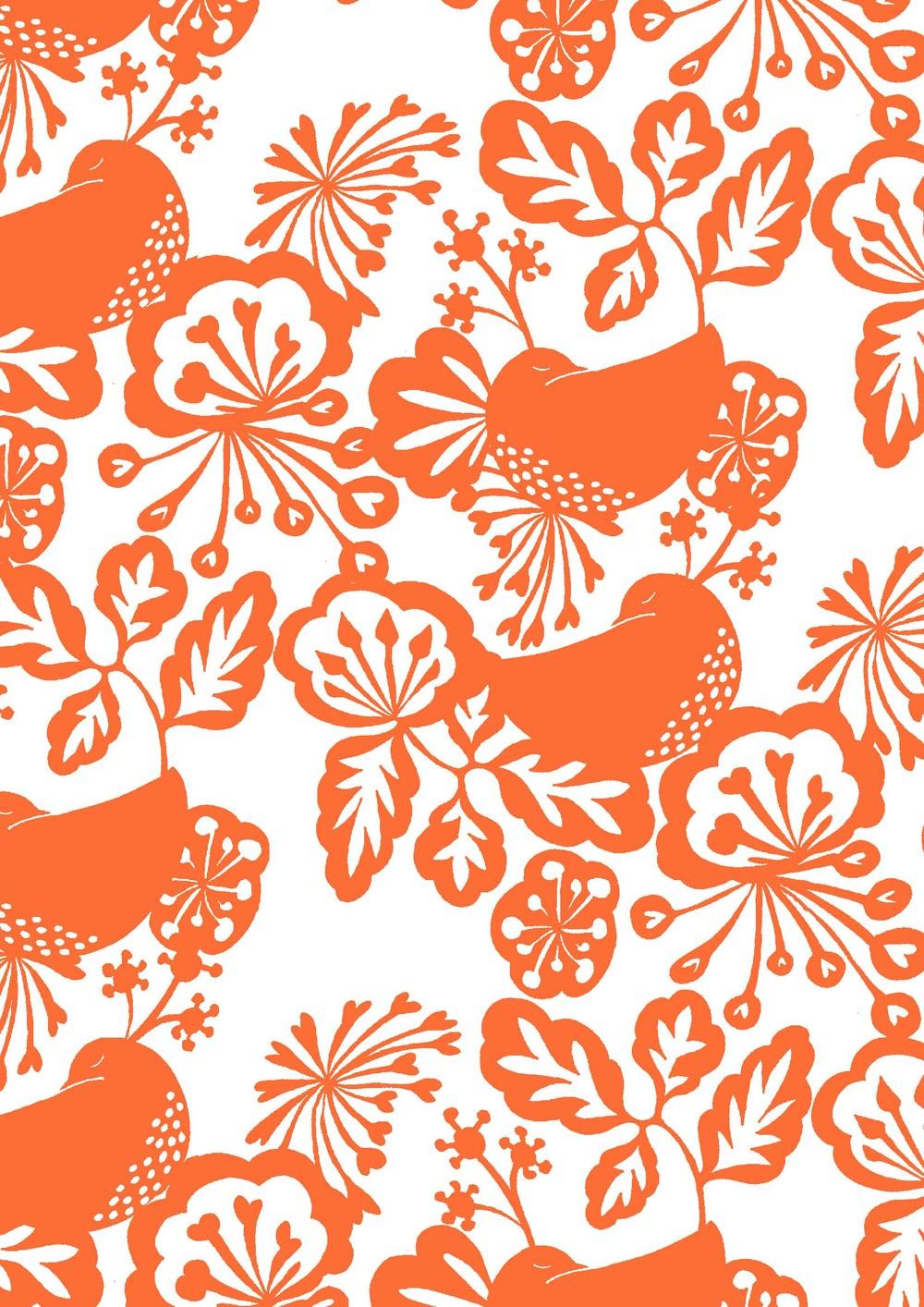 Orange birds