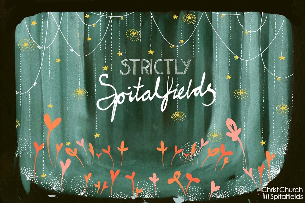 Spitalfields summer ball invite