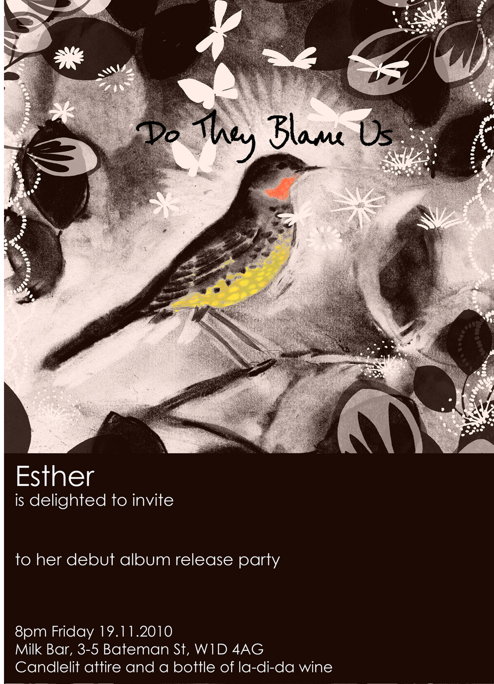 `Esther's Album launch invite