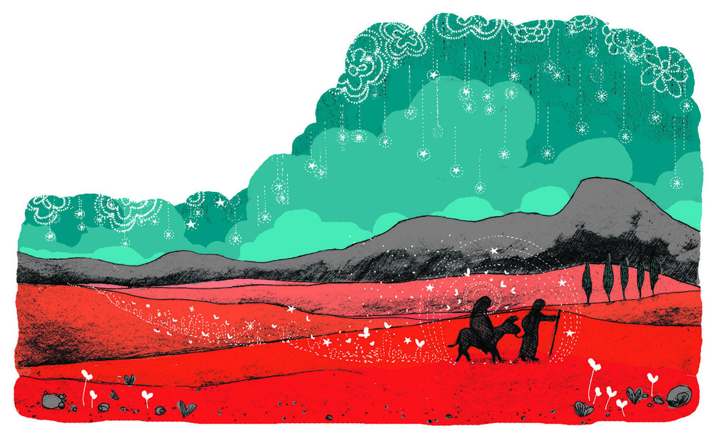 Crossing the red desert