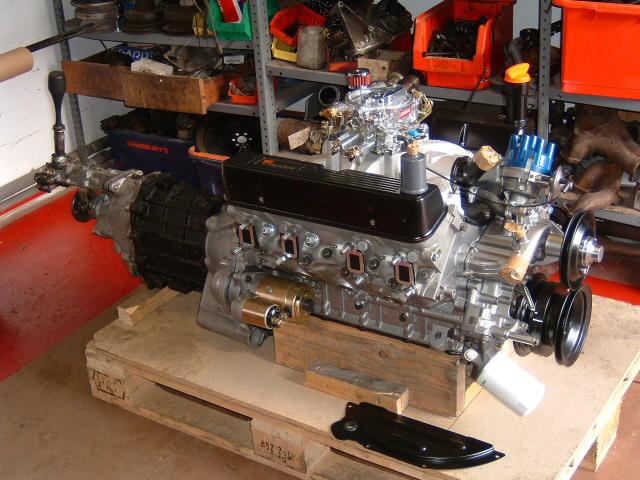Rover V Lg on V8 Engine Breakdown