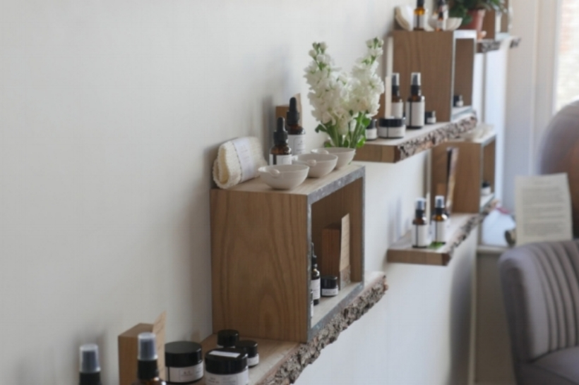 a few of the skincare products now available in the A.S APOTHECARY shop
