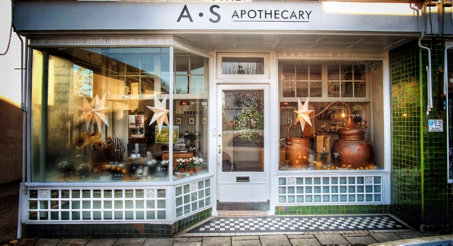 The new A.S Apothecary shop at 31 Western Road, Lewes, BN7 1RL