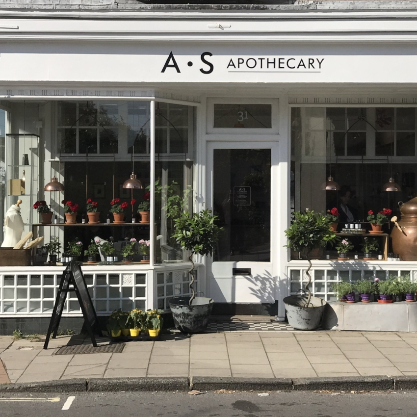 The A.S Apothecary Shop 31 Western Road, Lewes, BN7 1RL