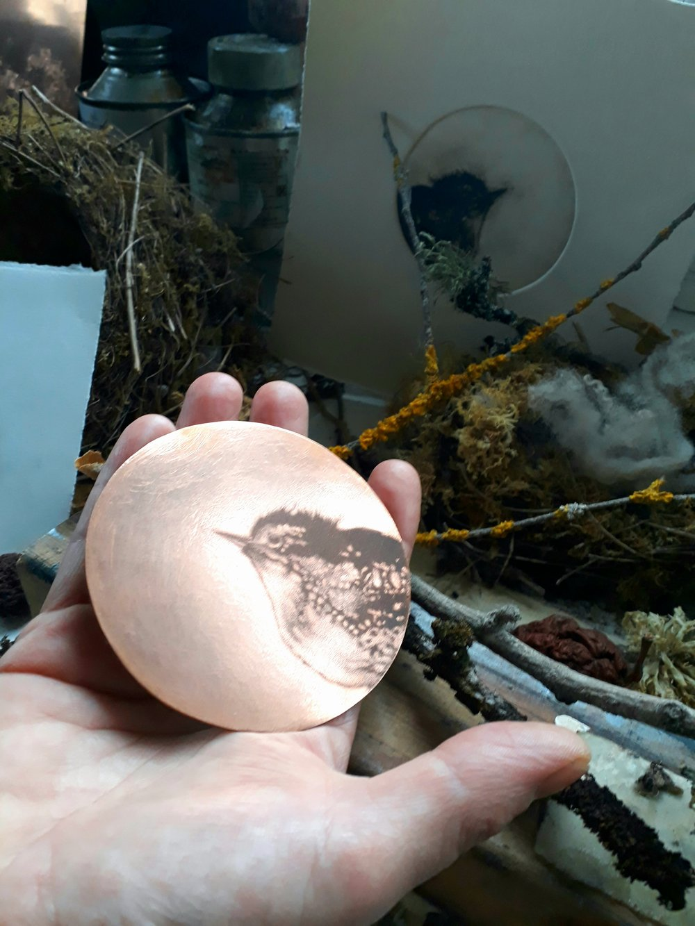 bird copper round plate.jpg