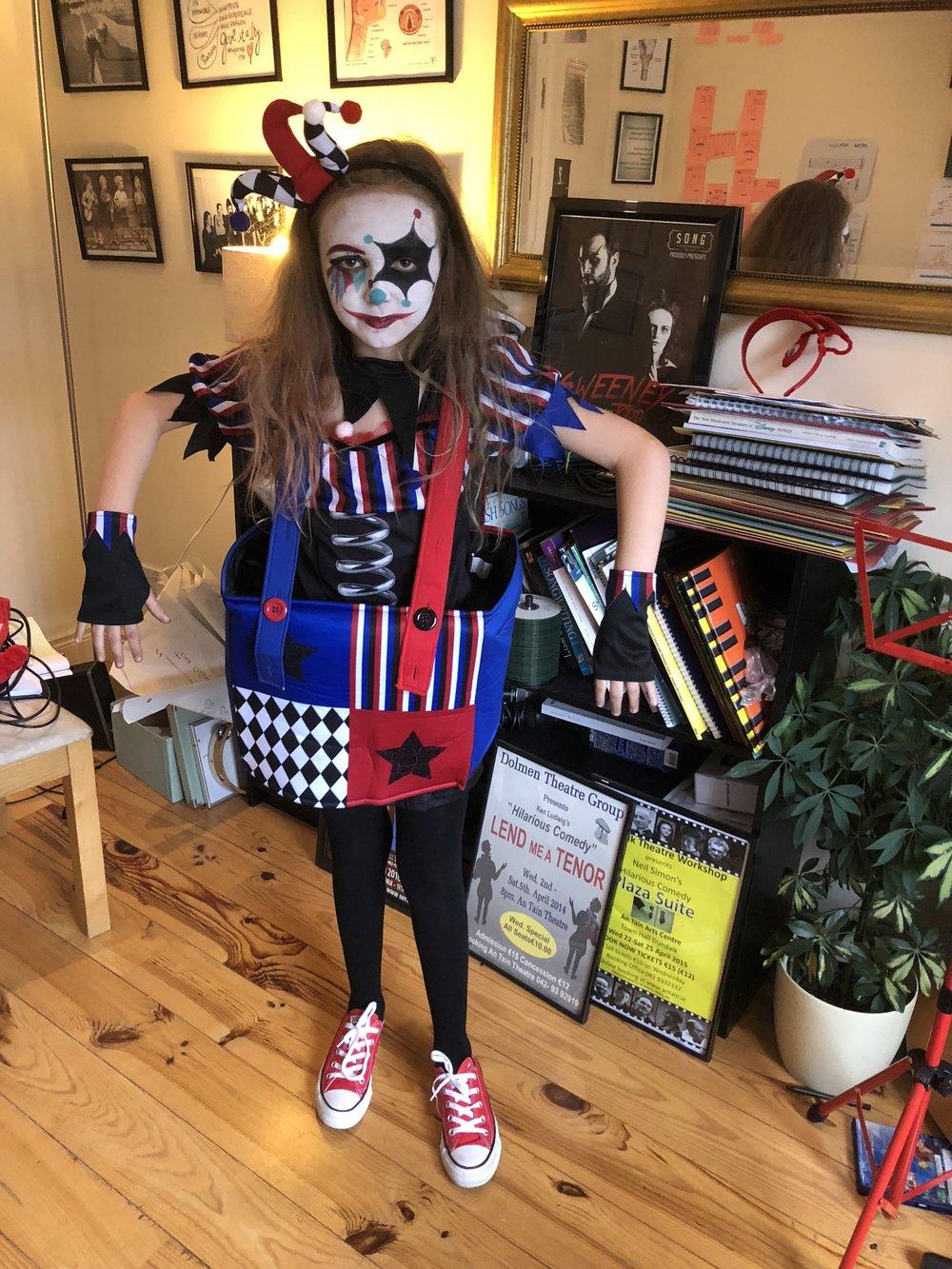 Mya Ryan with an amazing Halloween costume