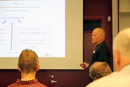 Olav Strand ved Norsk Institutt for Naturforskning oppsummerte kunnskapsstatus.