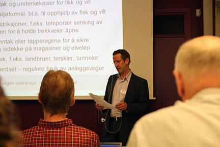 Jan Sørensen i NVE tok deltakerne gjennom en revisjonsprosess.