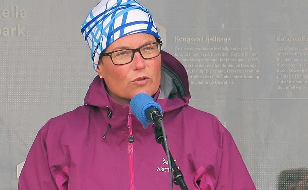 Klima- og miljøminister Tine Sundtoft. Foto: A. Nyaas