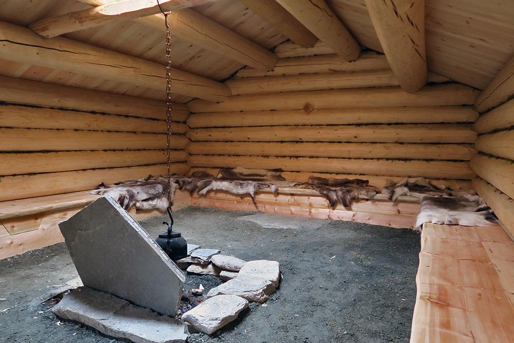 Sælehuset er tømret og oppsatt av Jora Bygg og Laft AS. Foto: A. Nyaas