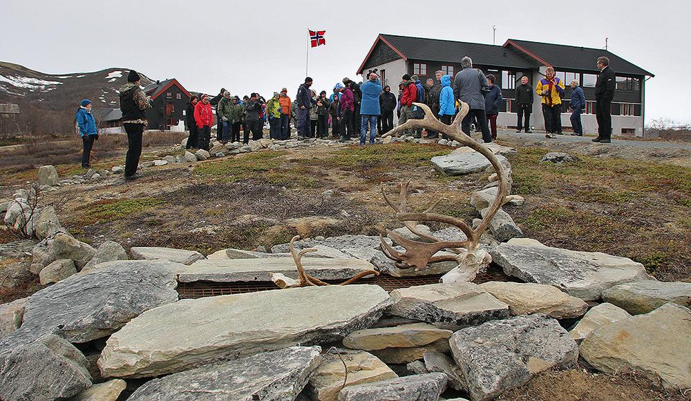 """""""Besøkssenter villrein"""" er avgjort verdt en stopp på Hjerkinn. Foto: A. Nyaas"""