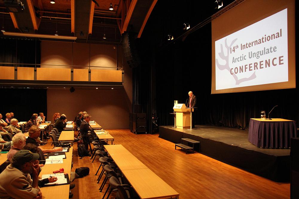 Statssekretær Lars Andreas Lunde i Klima- og miljøvepartementet åpnet konferansen.