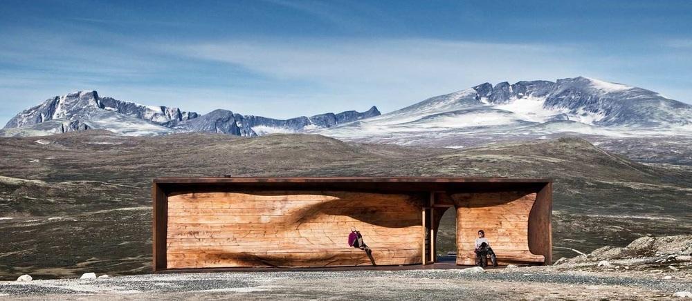 viewpoint SNØHETTA/Norsk Villreinsenter Nord. Foto: Ketil Jacobsen