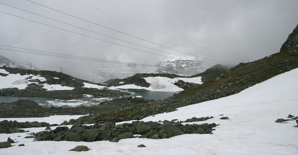 Kraftproduksjon medfører store inngrep i mange norske villreinområder. Illustrasjonsfoto: Anders Mossing